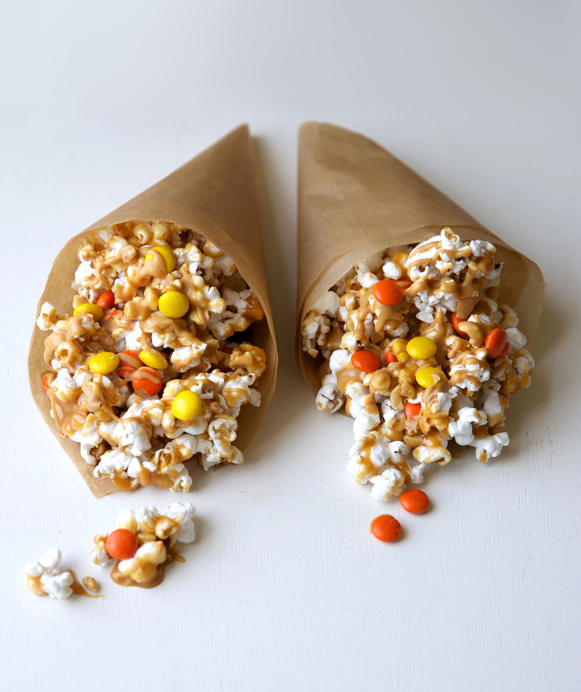 Olympic Popcorn Torches