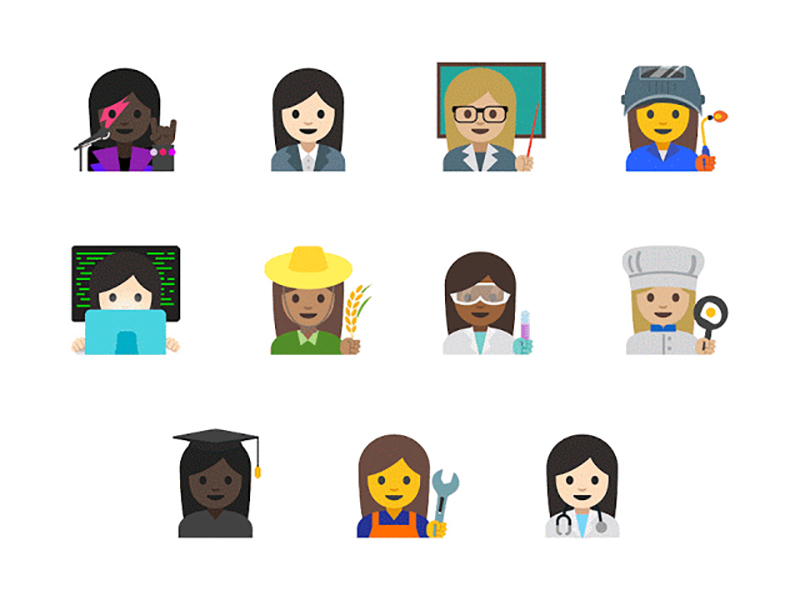 new-female-emojis