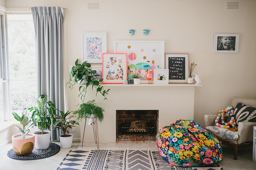 Laura Blythman's Melbourne Neon Dream Home