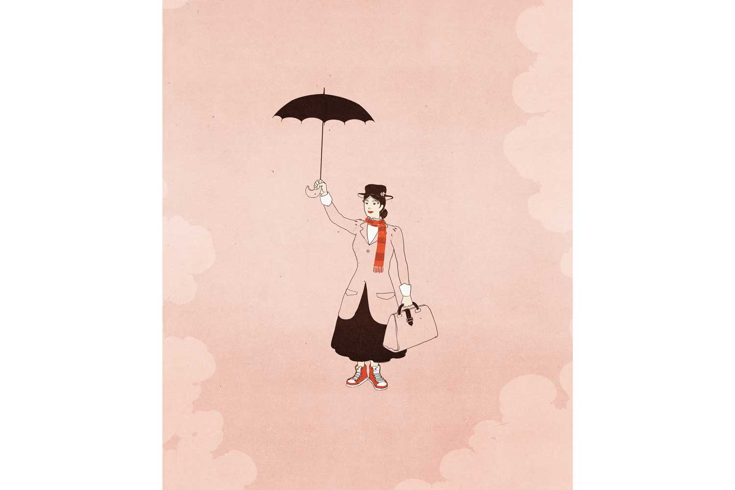 Illo: Mary Poppins