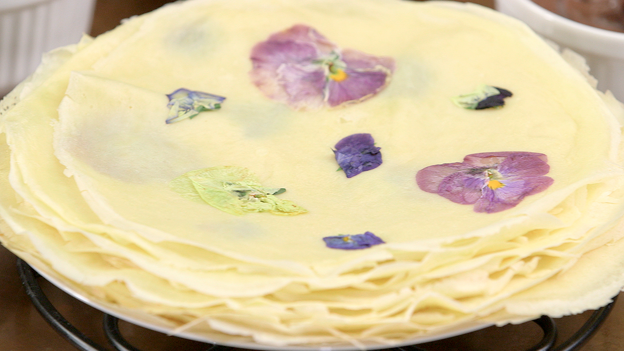 Flower Crepes (still)