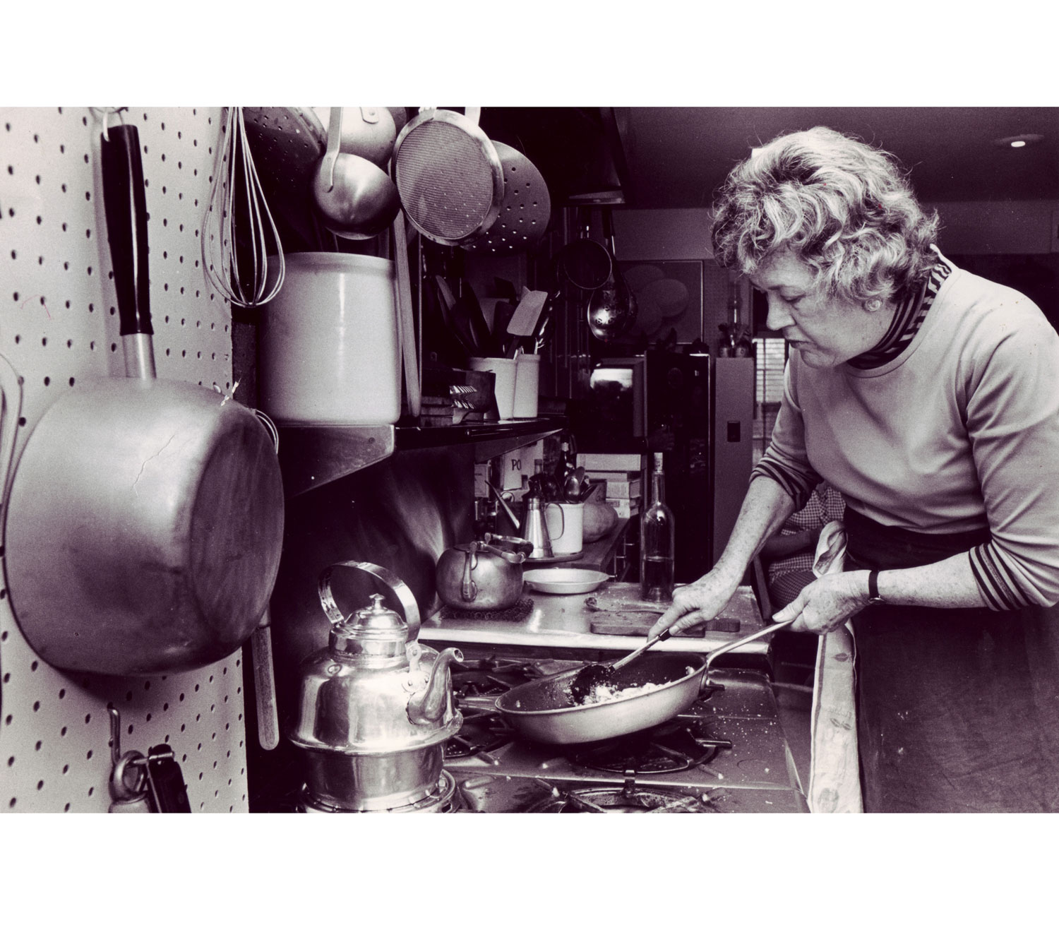 Julia Child Cooking