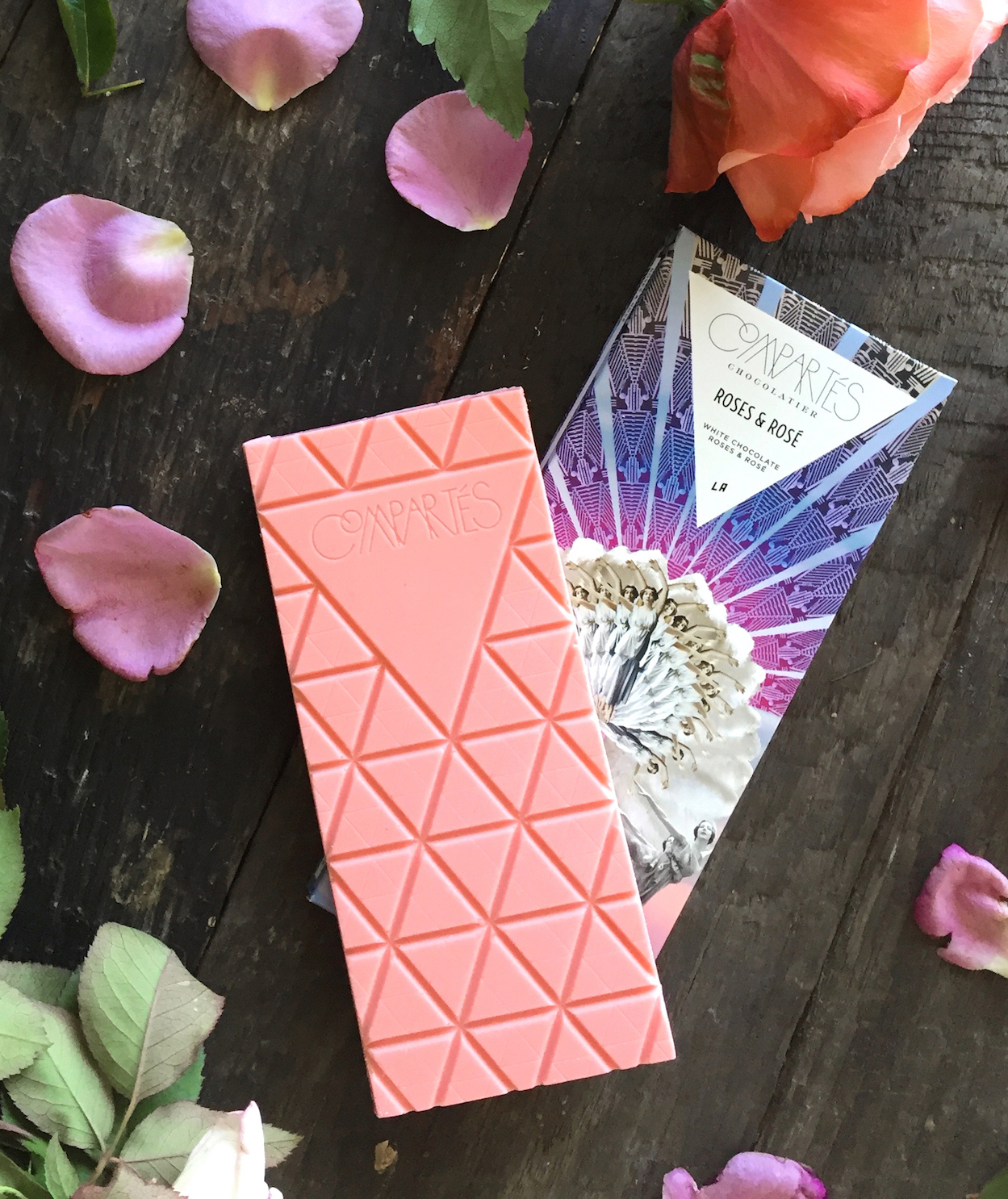 We Tried the New Rosé Chocolate Bar