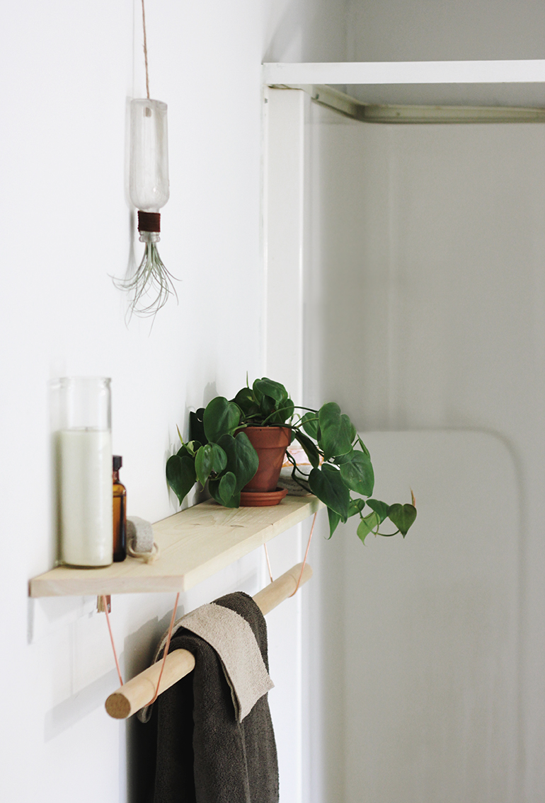 Towel Rack Shelf