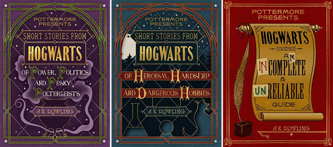 J.K. Rowling Is About to Release 3 New Harry Potter Books