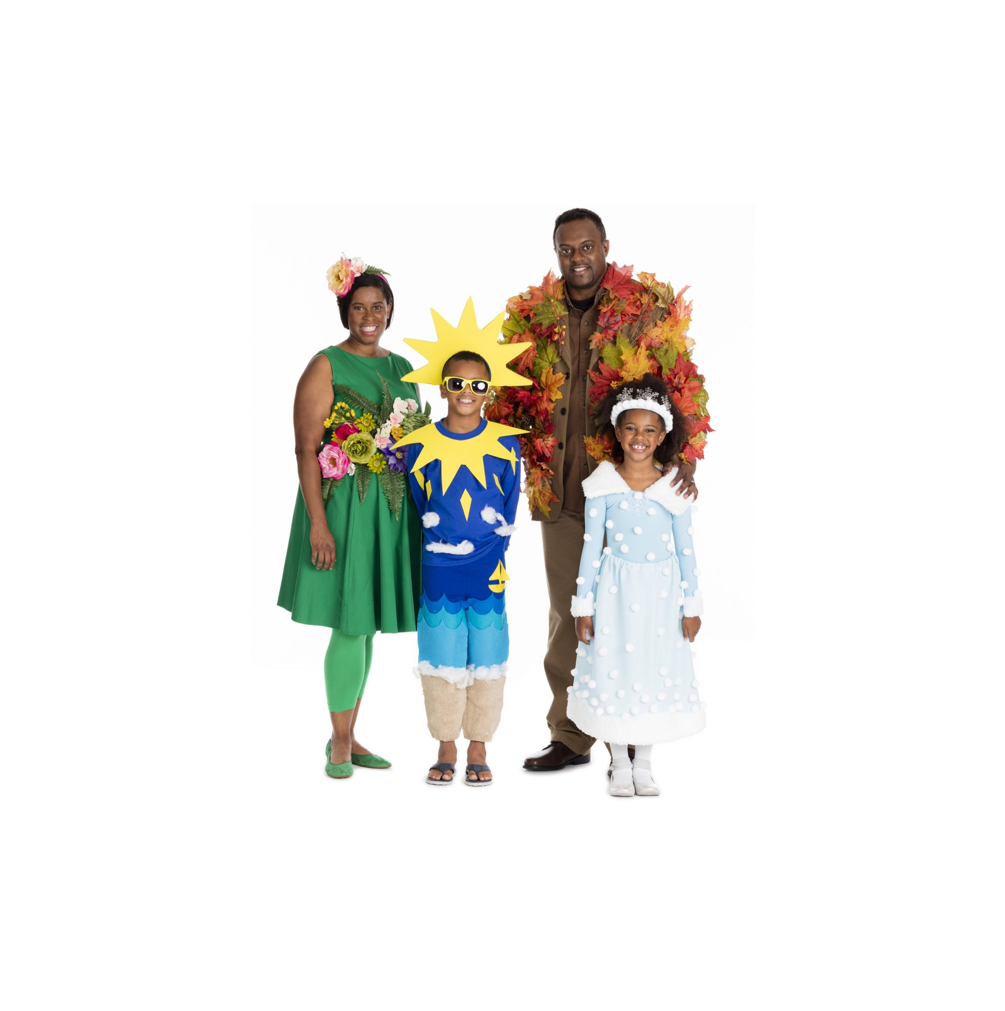 Four Seasons Group Costume  sc 1 st  Real Simple & Group Halloween Costumes | Real Simple