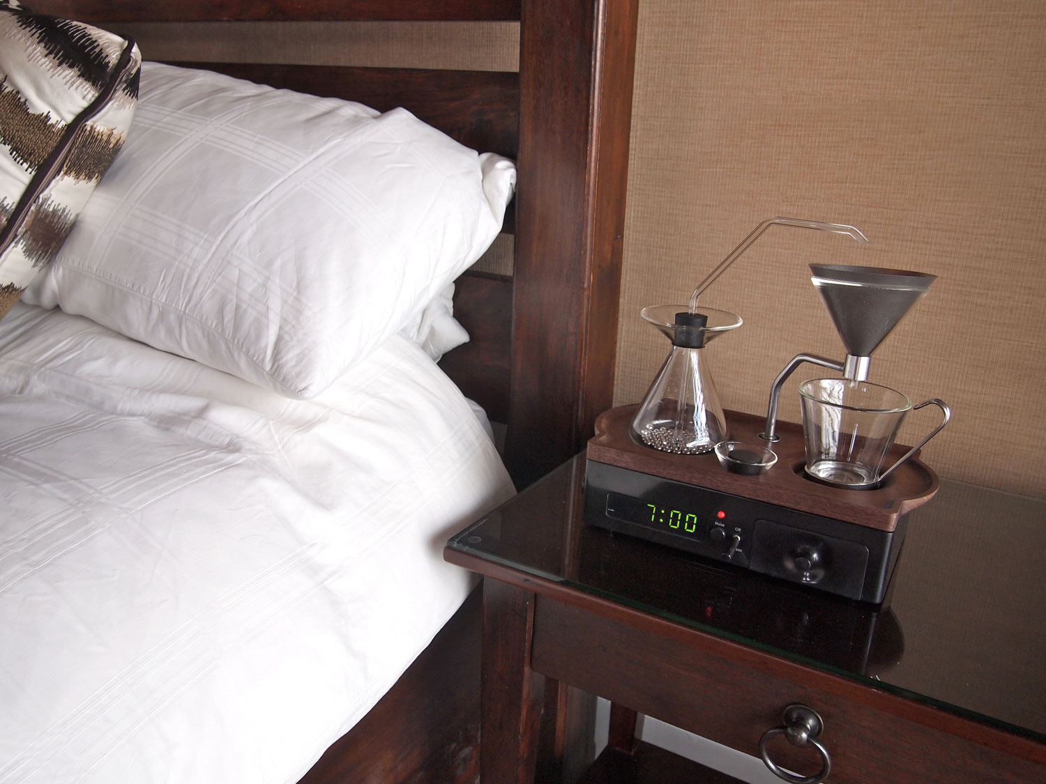 The Coffee Maker Alarm Clock Will Become a Reality Next Fall
