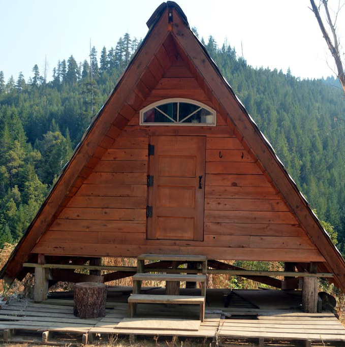A-Frame Cabin in Gasquet, California