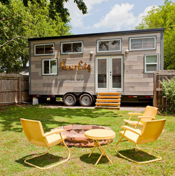 Tiny Guest House in Nashville, Tennessee