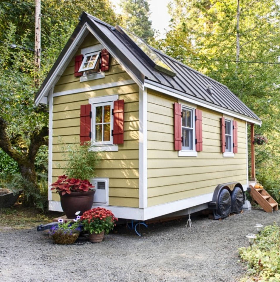 10 tiny houses you can rent or even buy real simple. Black Bedroom Furniture Sets. Home Design Ideas