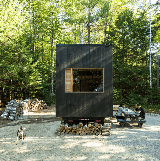 Getaway Cabins in Boston and New York City