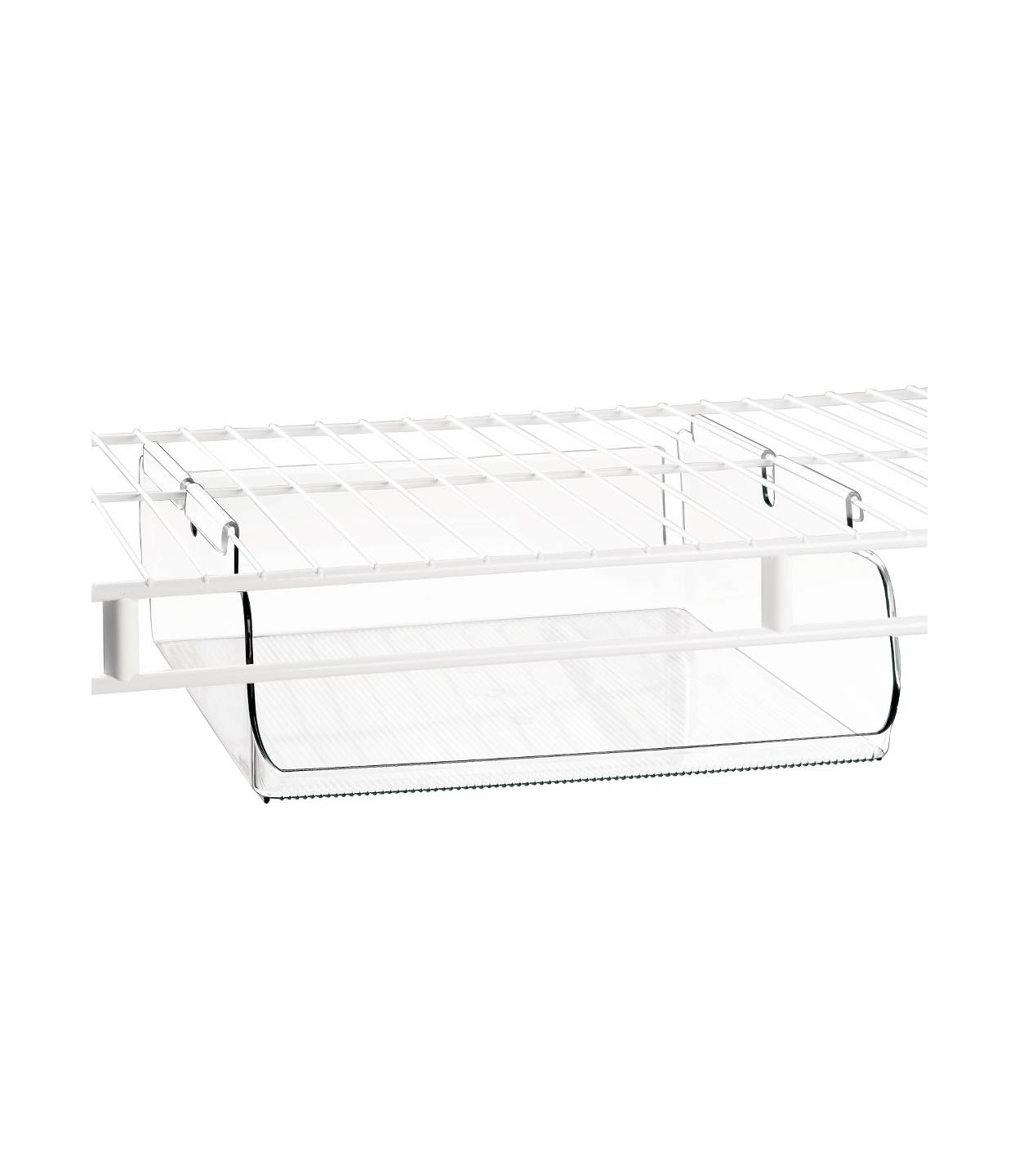 InterDesign Tru-Grasp Under-the-Shelf Hanging Bin