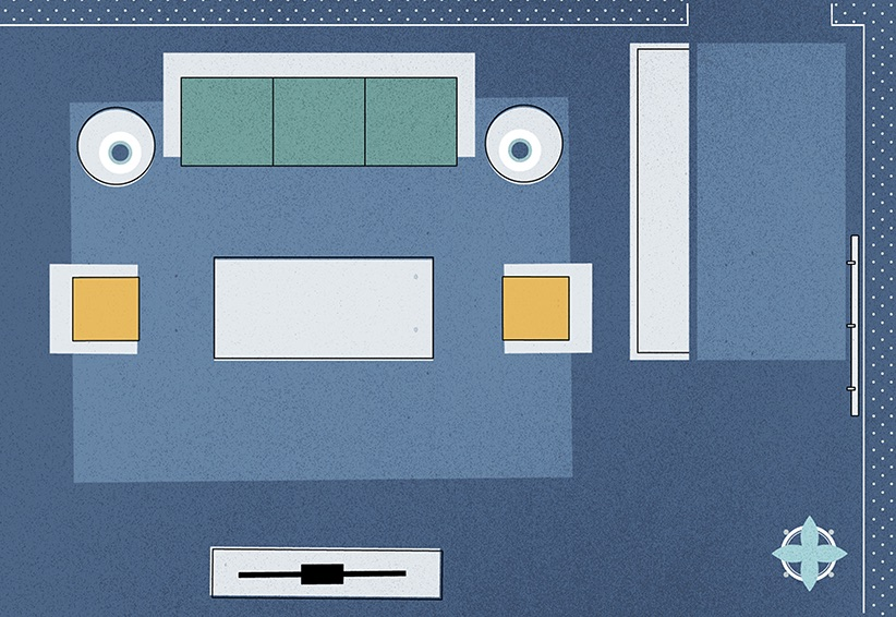 3 Genius Solutions For Living Room Layout Problems Real