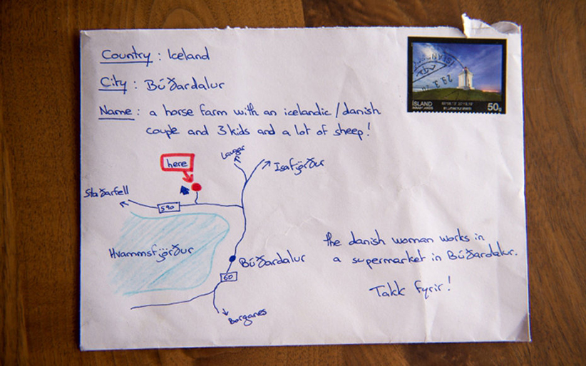 A Letter Without a Map Made it to its Destination in Iceland