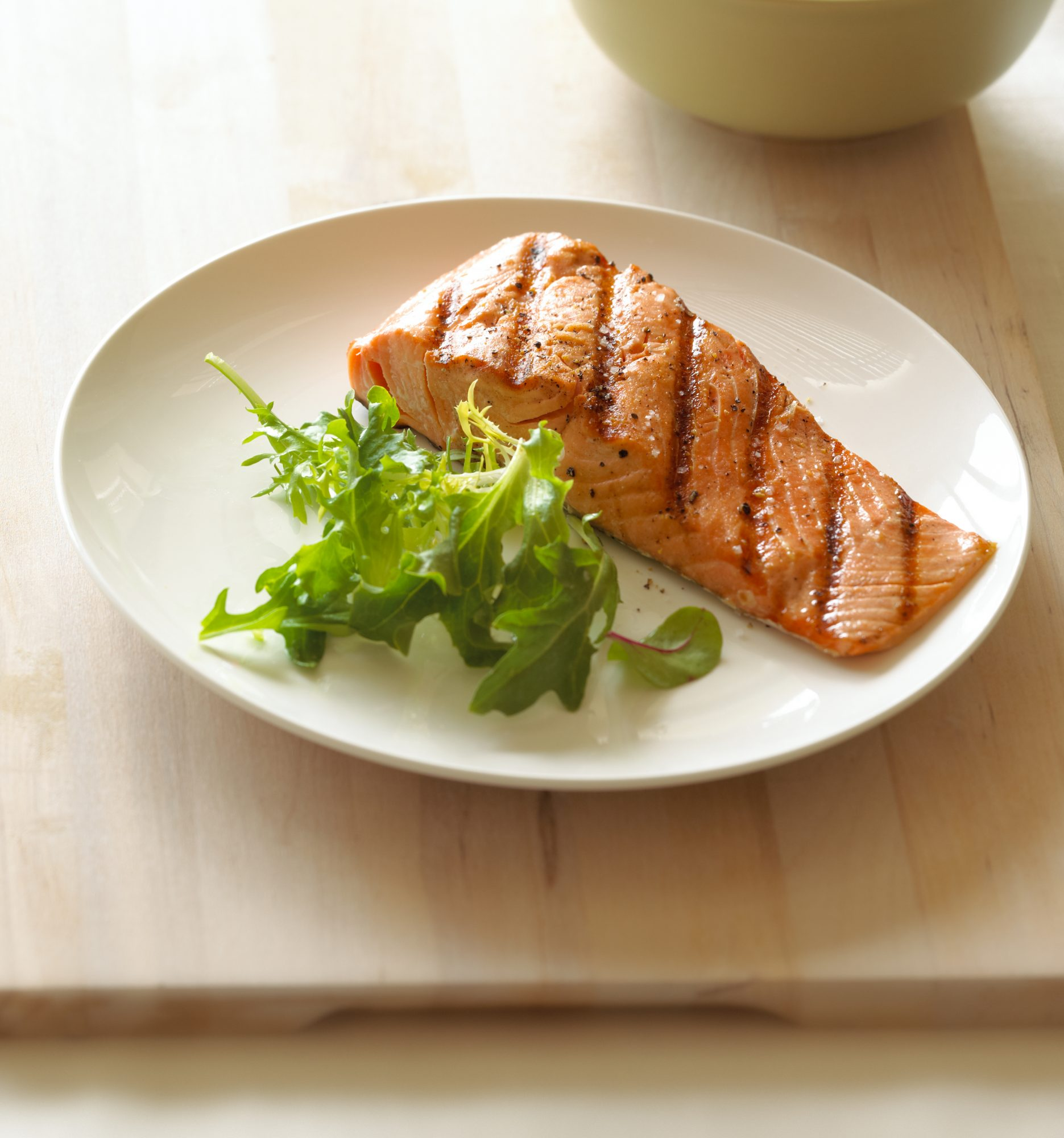 salmon-on-a-plate