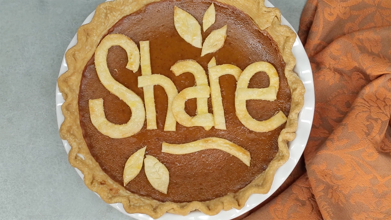 message-in-a-pie