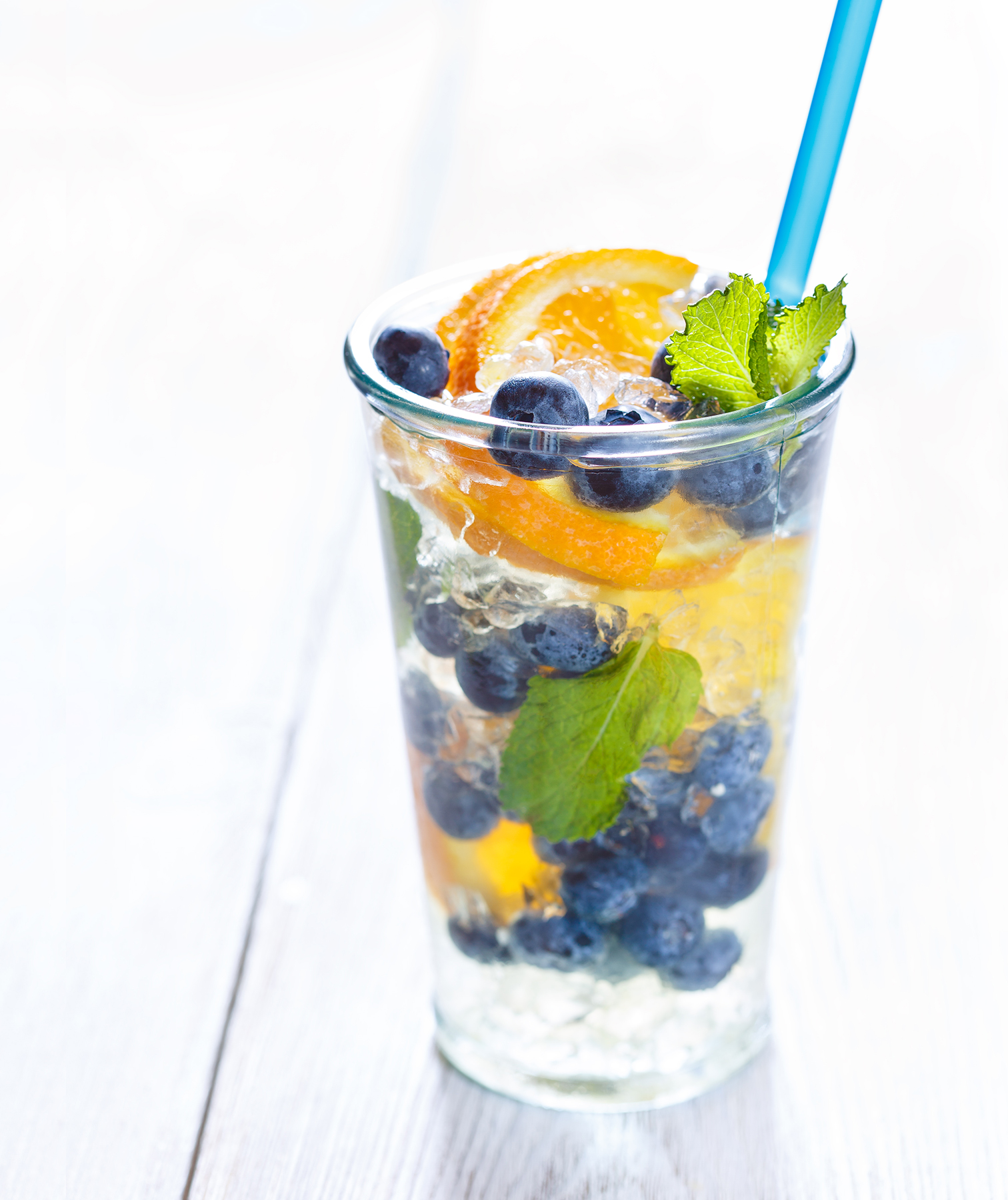 Detox fruit water