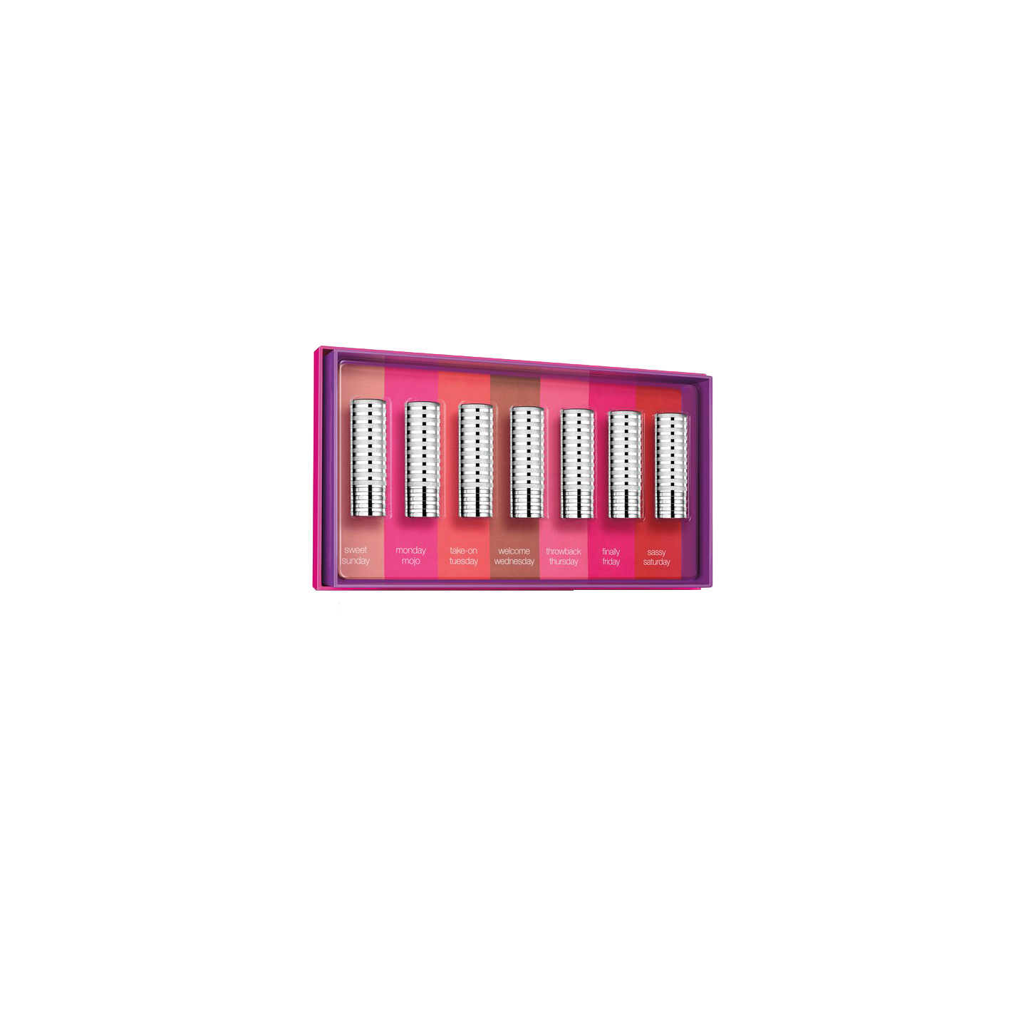 Clinique Days of the Week Lipstick Set