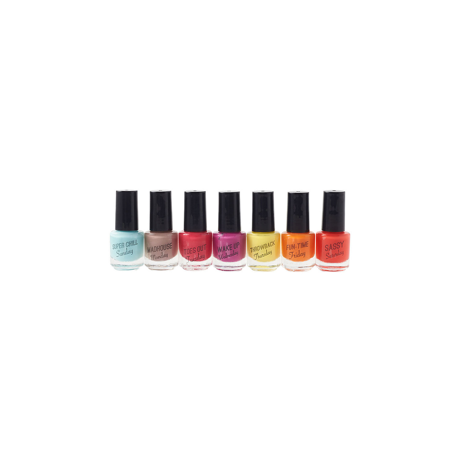 Daily Mood Maker Scented Nail Polish set