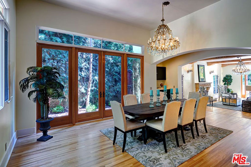 mandy moore dining room