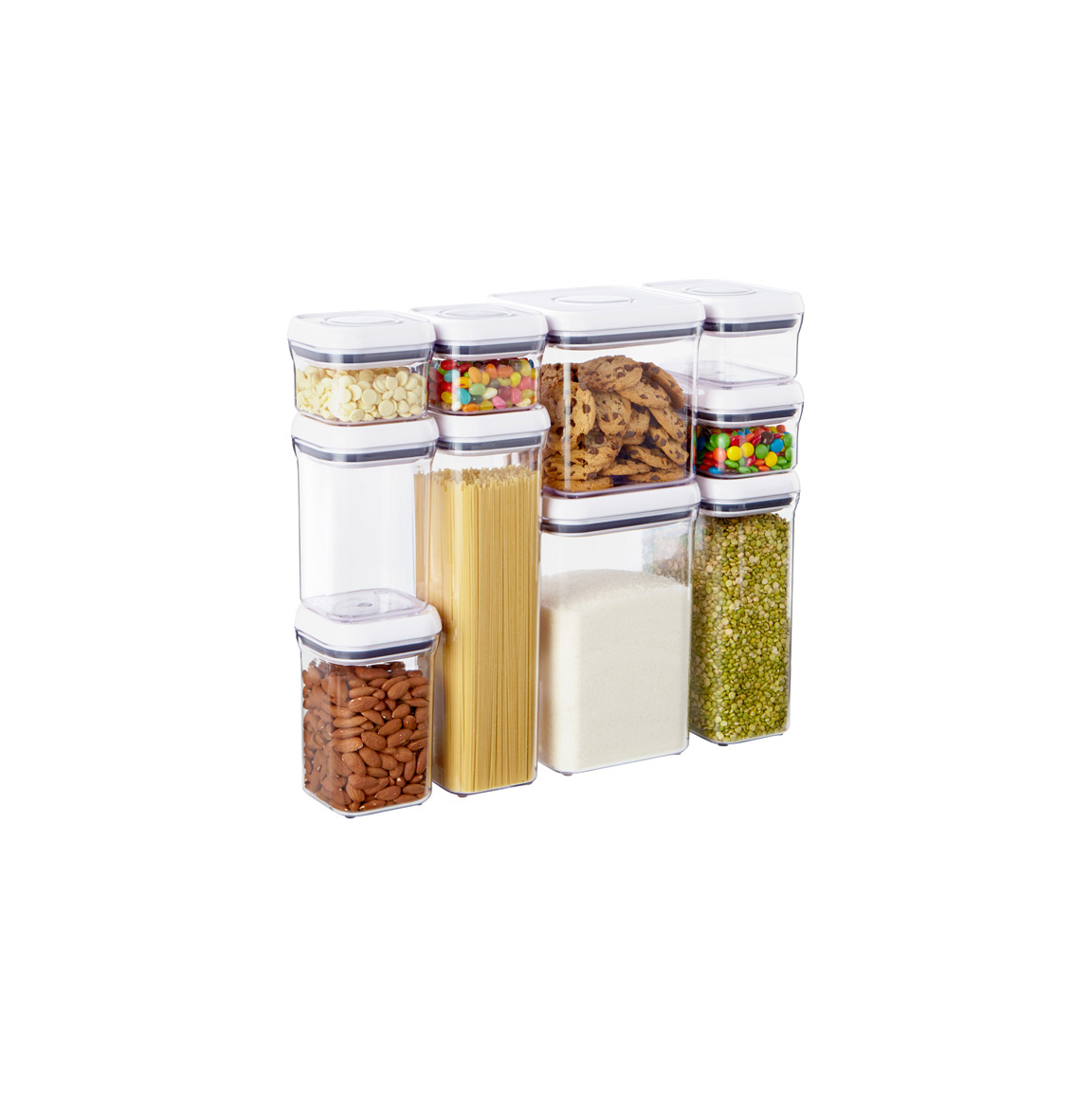 Good Grips 10-Piece POP Canister Set by OXO