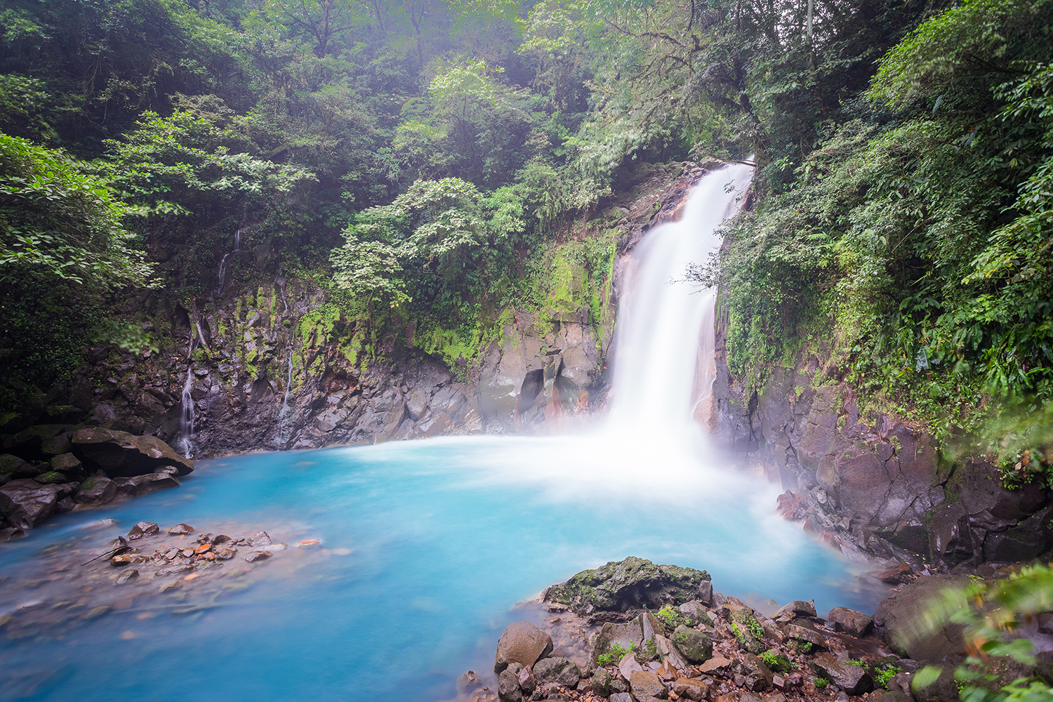 Costa Rica Waterfall Scenic
