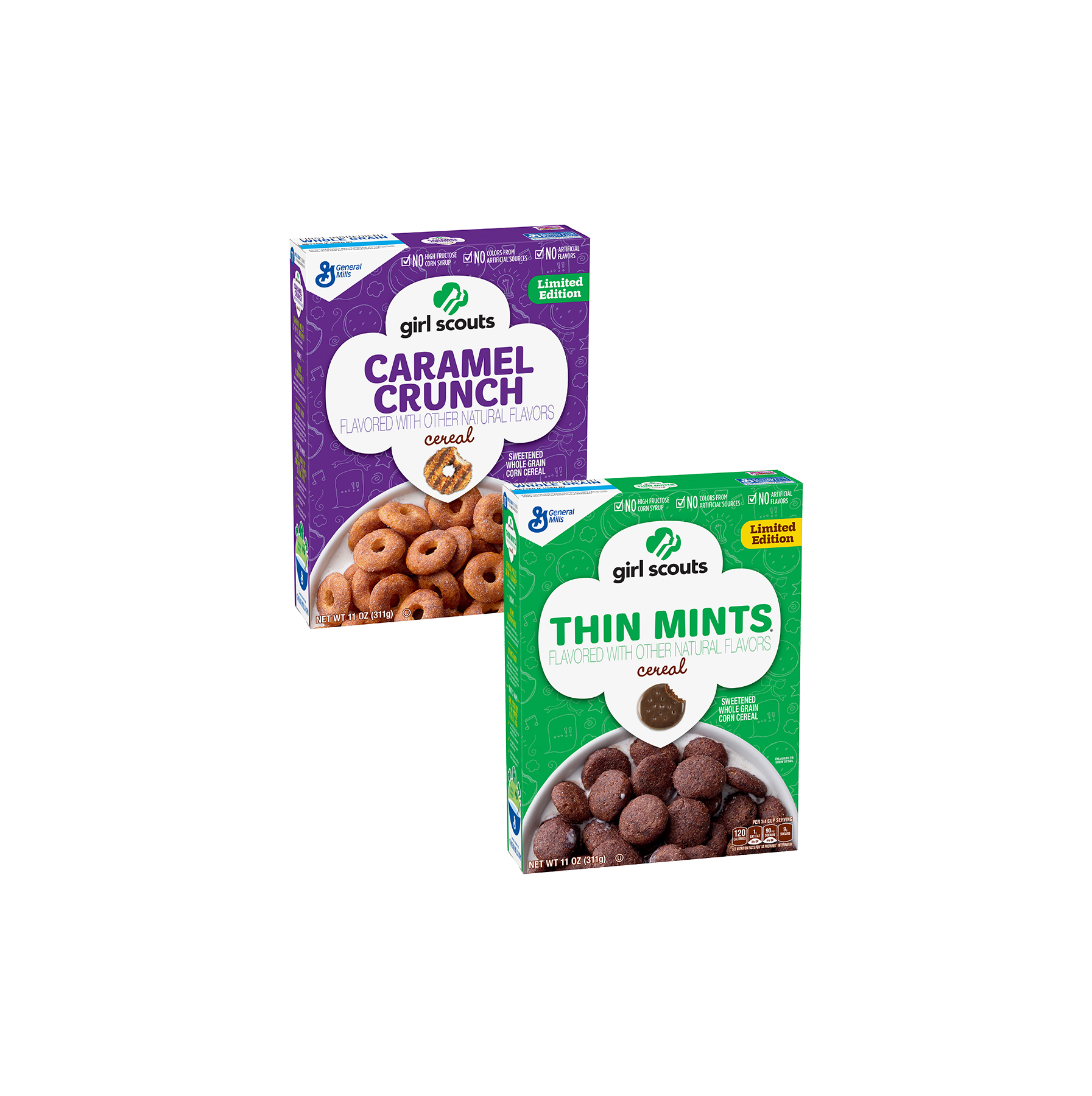 Girl Scout Cookie Cereal Is Coming in January