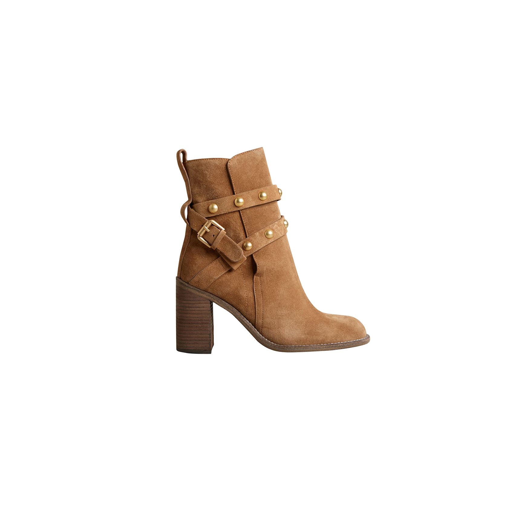 See by Chloe Studded Buckle Booties