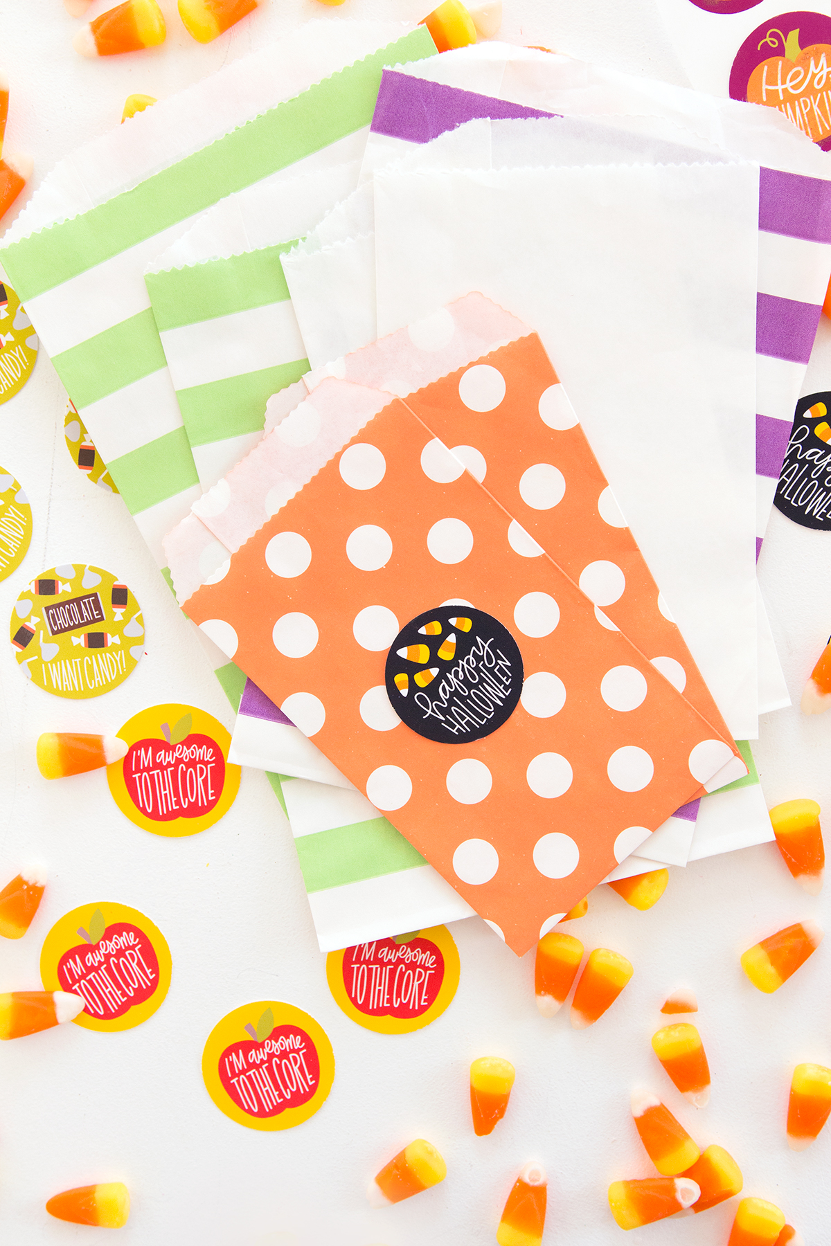 DIY Fall Scratch and Sniff Stickers