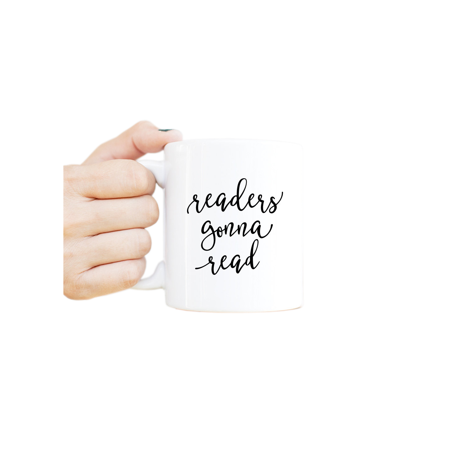 Readers Gonna Read Mug