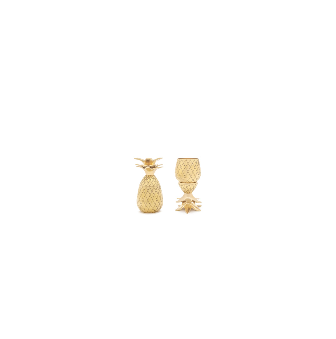 Sugarfina Pineapple Shot Glasses