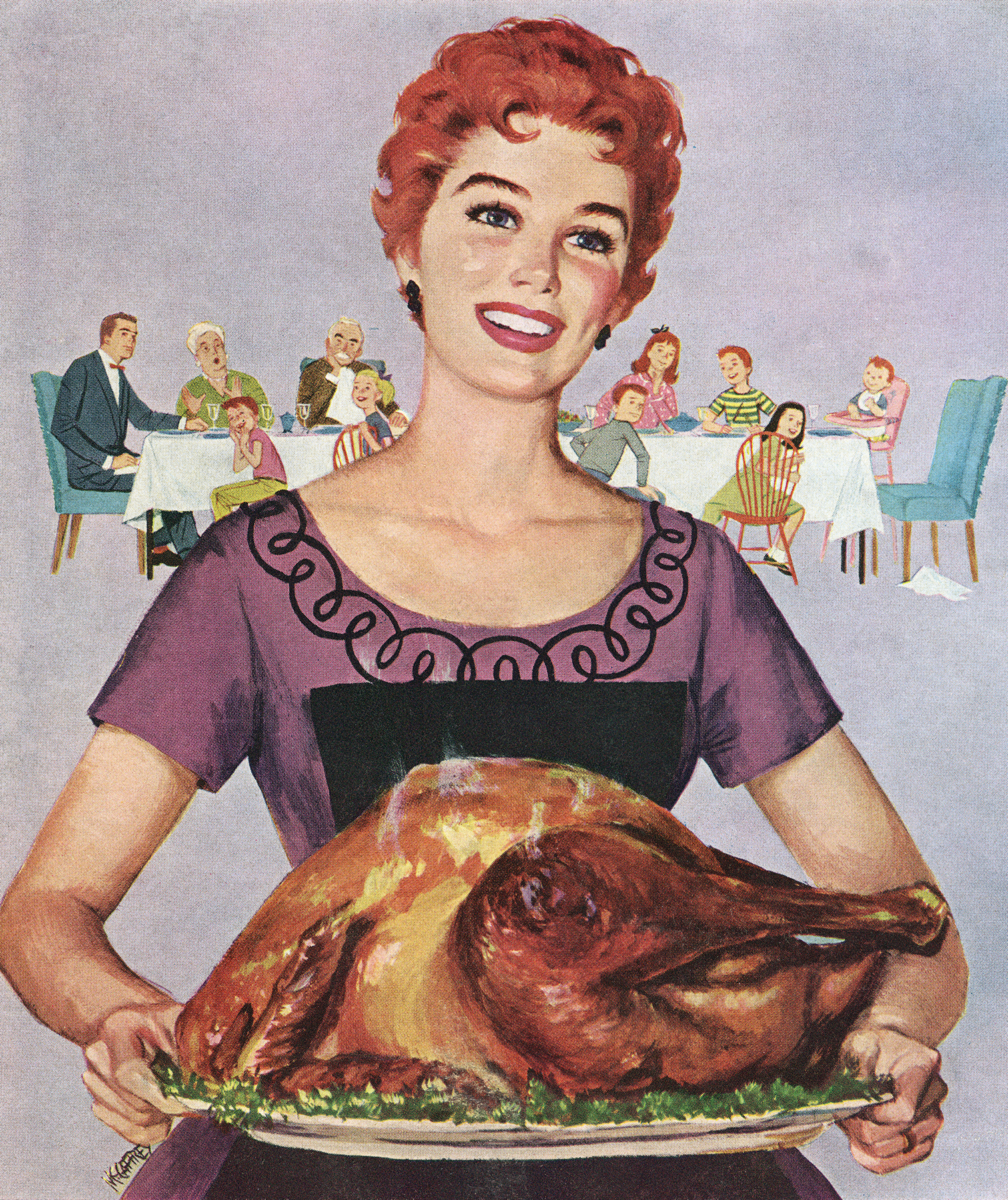 Illustration: Vintage Thanksgiving