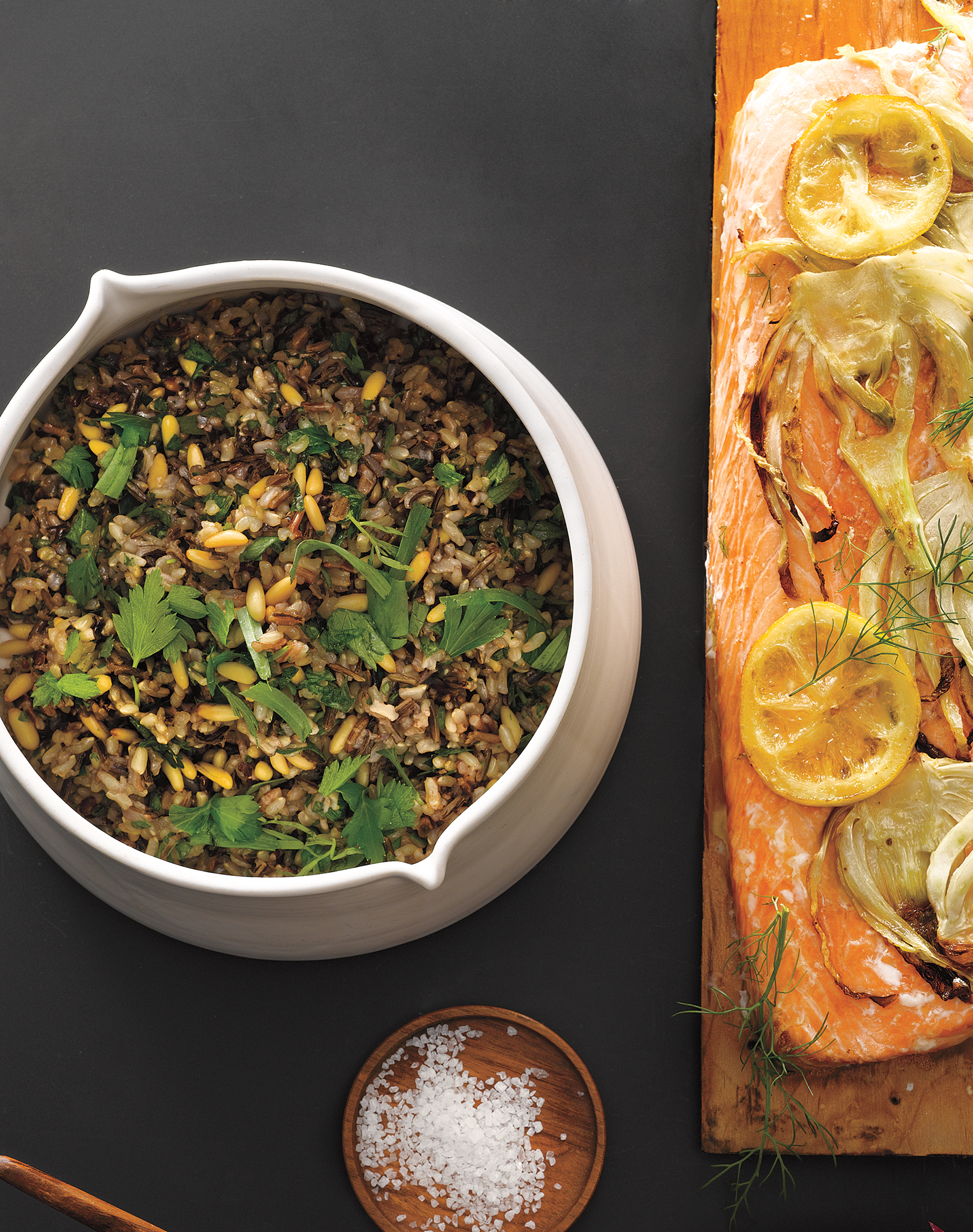 Wild Rice and Pine Nut Salad
