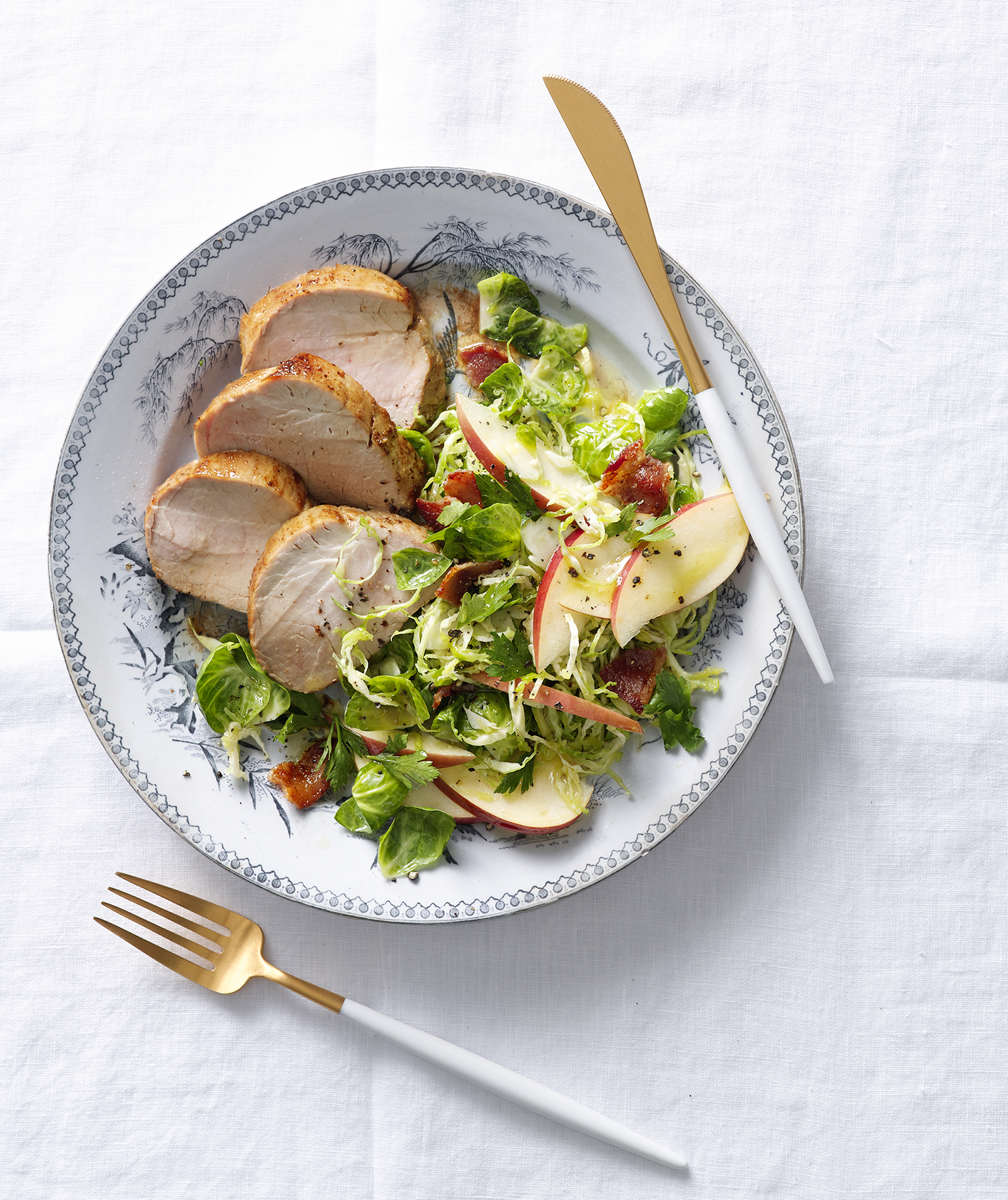 pork-tenderloin-brussel-sprouts-salad