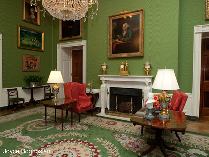 white house green room