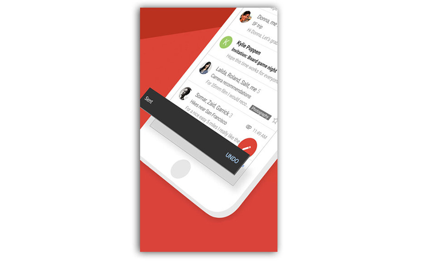New Undo Email Button for Gmail