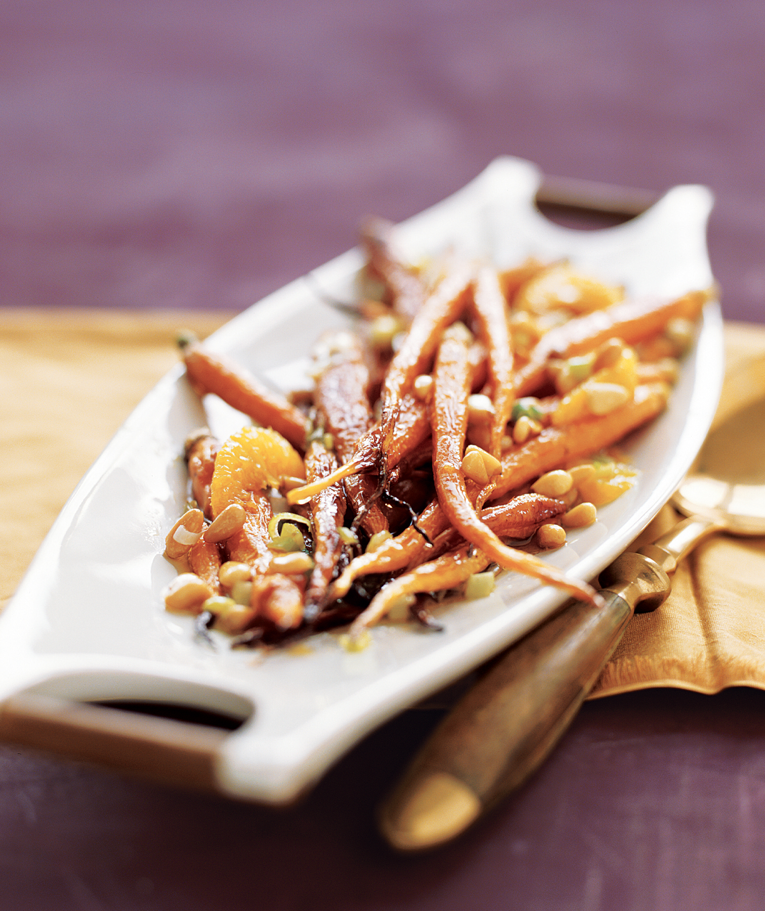 Roasted Cumin Carrots