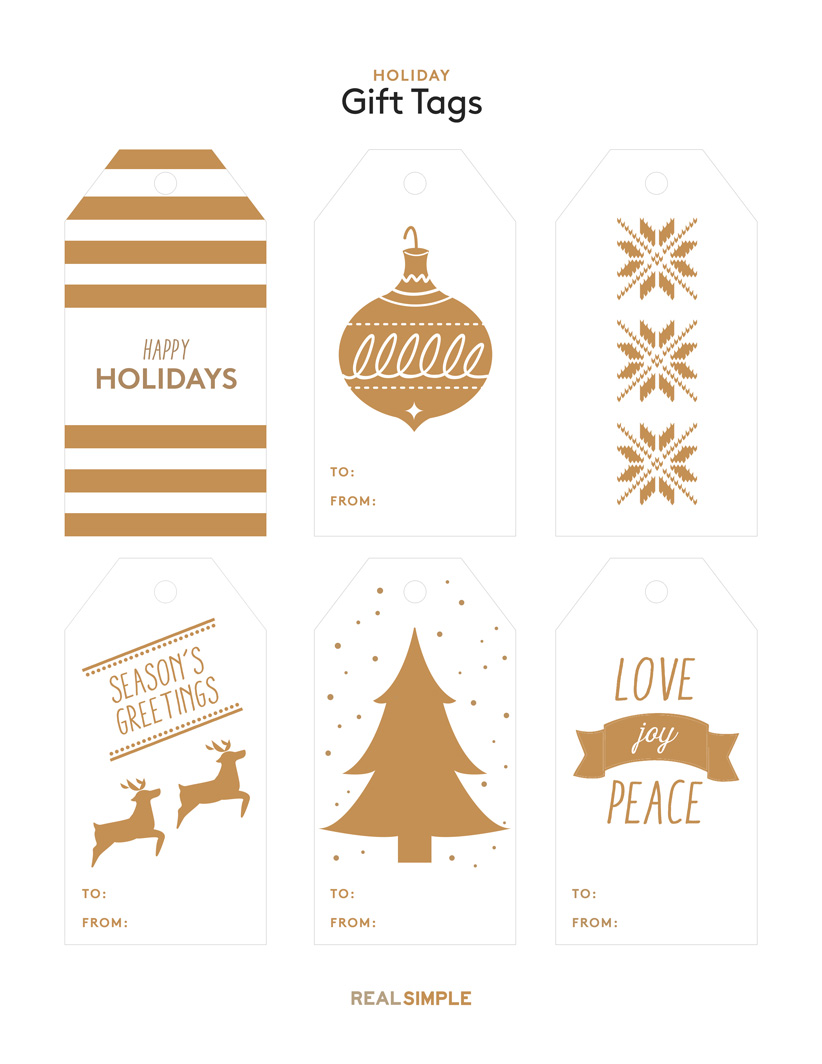 It's just a photo of Striking Holiday Gift Tags Printable