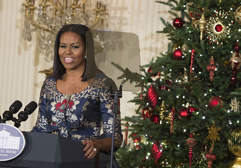 Michelle Obama Christmas Speech