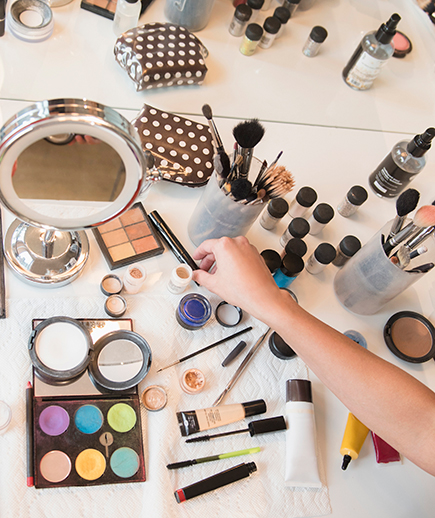 table of make up