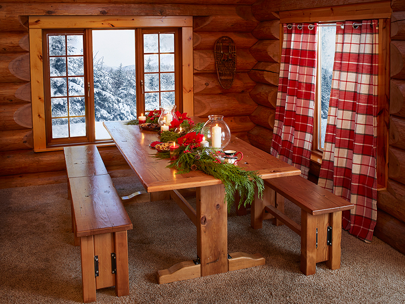 santa house dining room