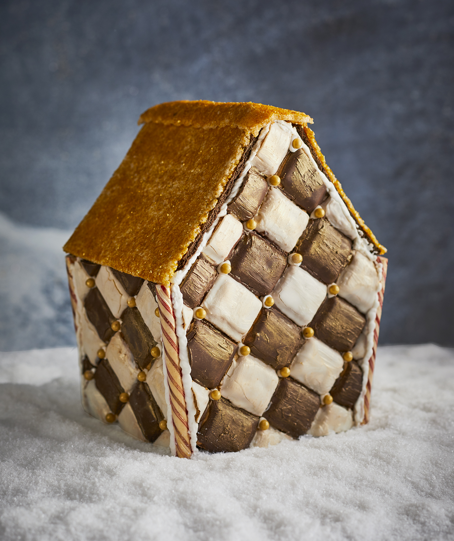 Harlequin Gingerbread House