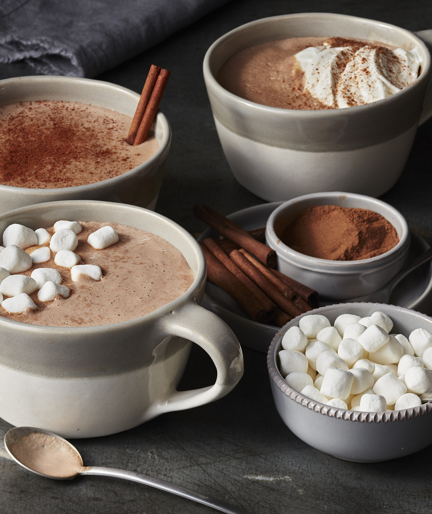 Slow-Cooker Gingerbread Hot Chocolate