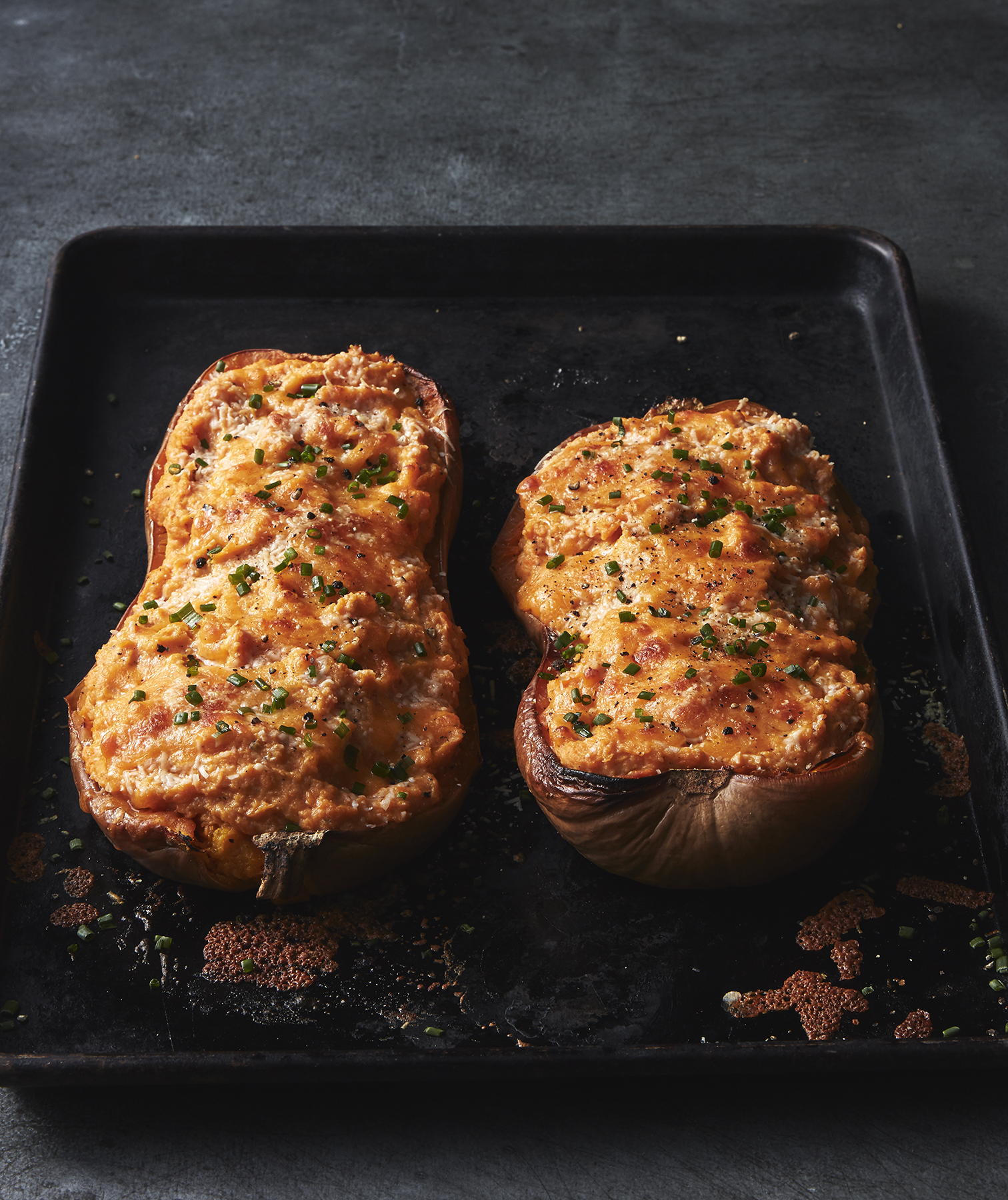 Twice-Baked Butternut Squash Recipe | Real Simple