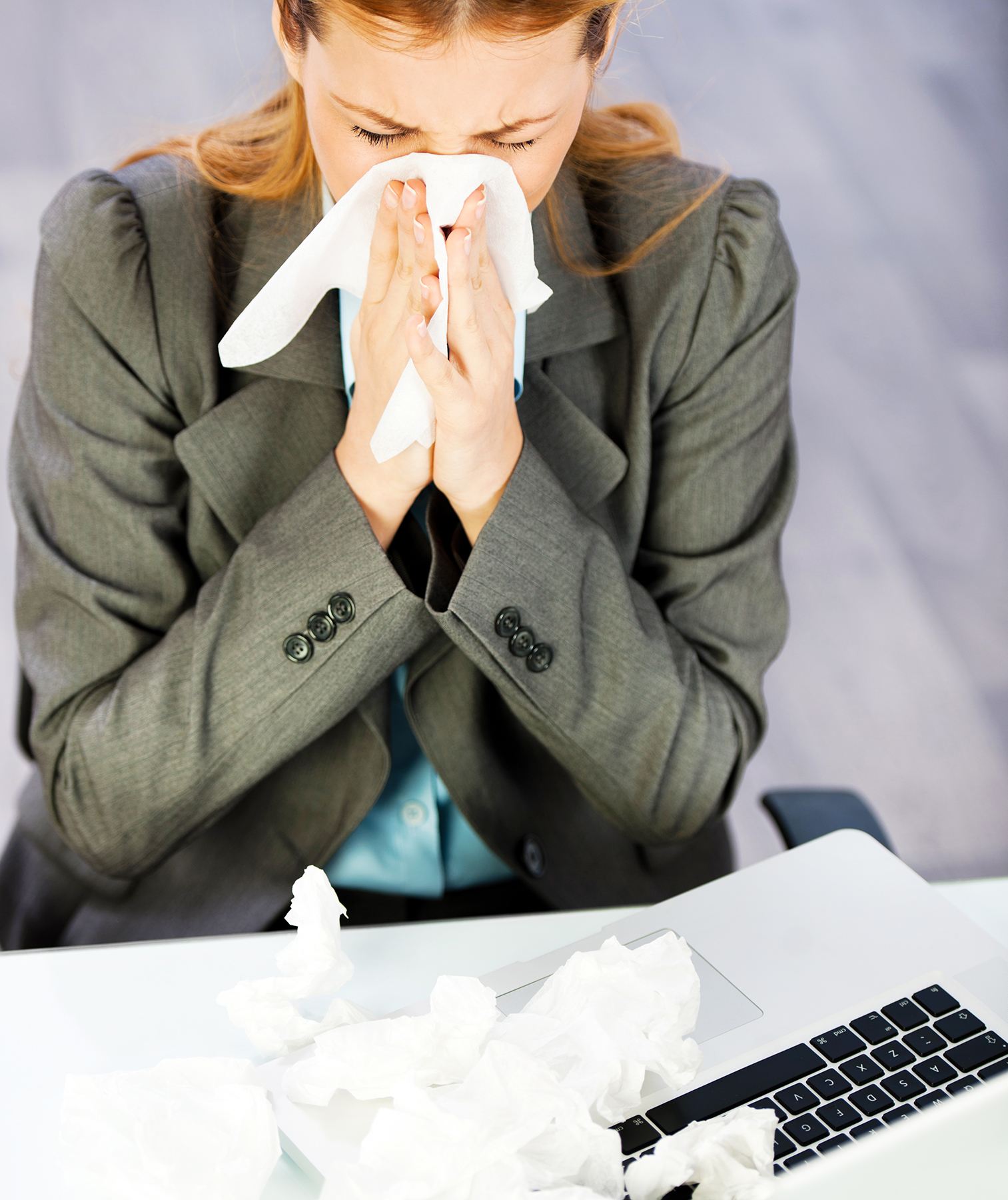 Why SoMany People Go to Work When They're Sick