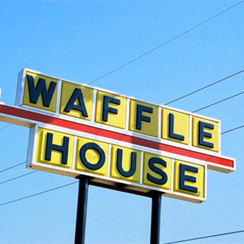 get free food at Waffle House