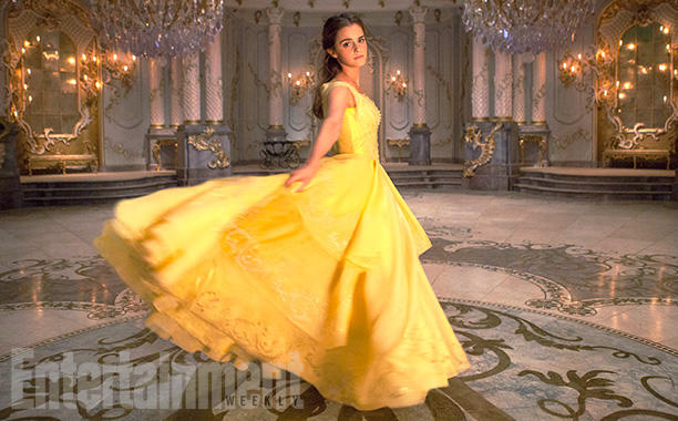 Belle in Yellow Dress