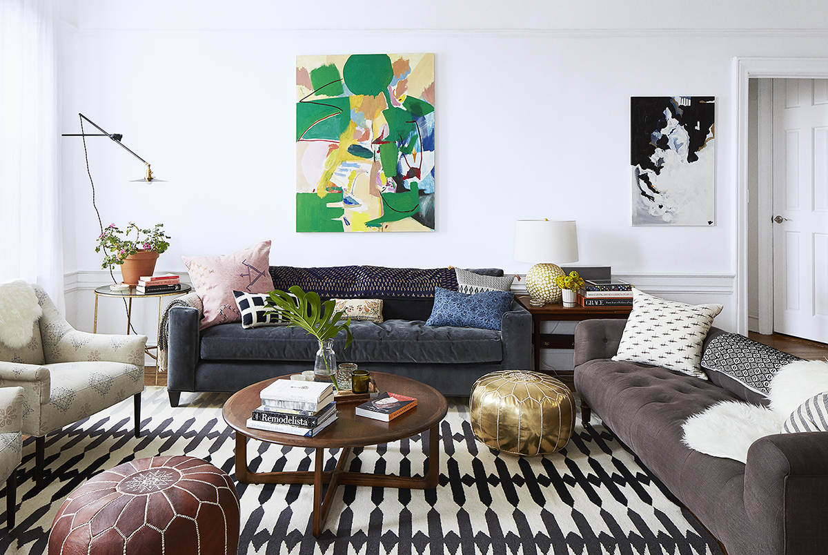 Mauri Weakley and Ben Heemskerk's Living Room