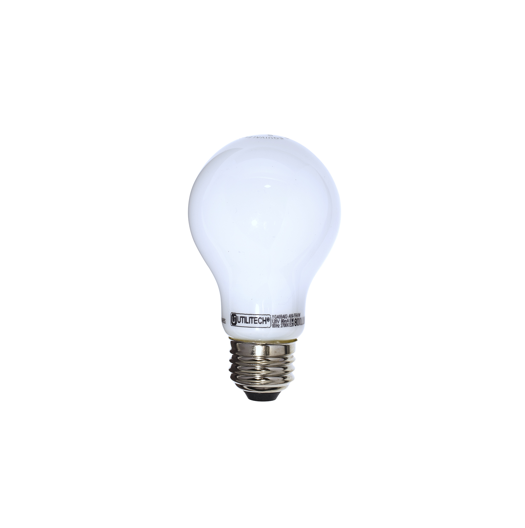Utilitech soft white LED decorative bulb