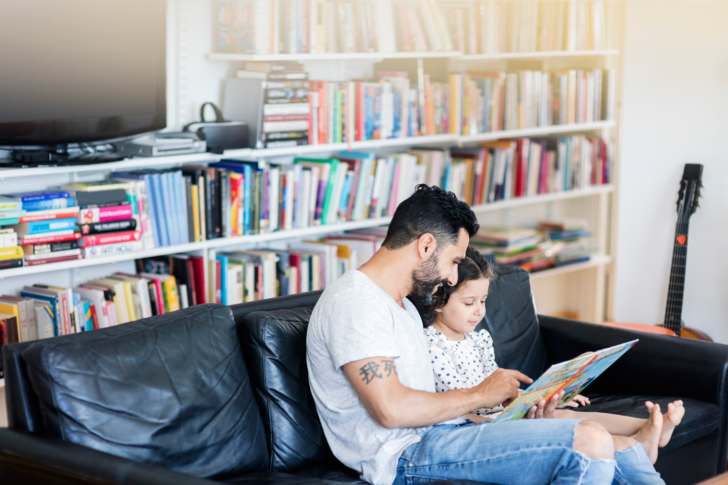 father-daughter-book